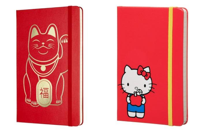 Limited edition Moleskine notebooks: Neko and Hello Kitty
