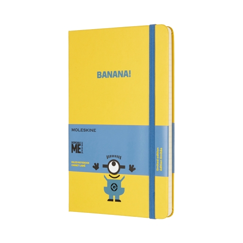 Minions Moleskines are awesome!
