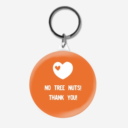 No tree nuts   personalized bag tag ideas from Stuck On You + Cool Mom Picks   sponsor