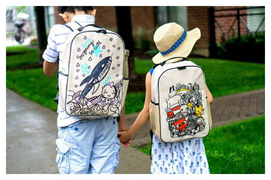New backpacks that make us glad our kids need new backpacks.