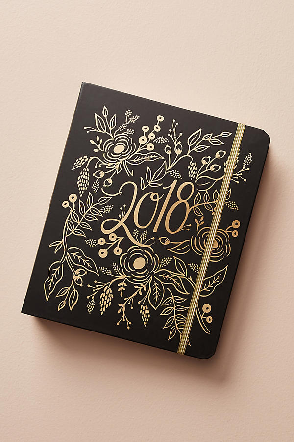 Pretty 2017-18 school year planners: Rifle paper's foil-printed planner is gorgeous