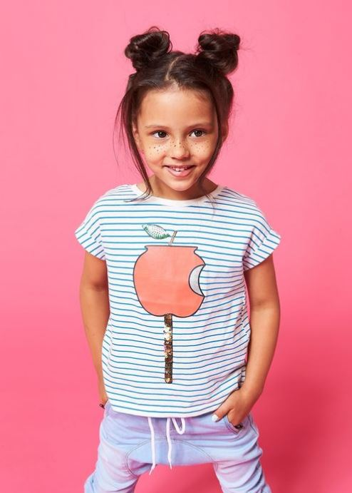 scratch and; smell apple tee by cotton on