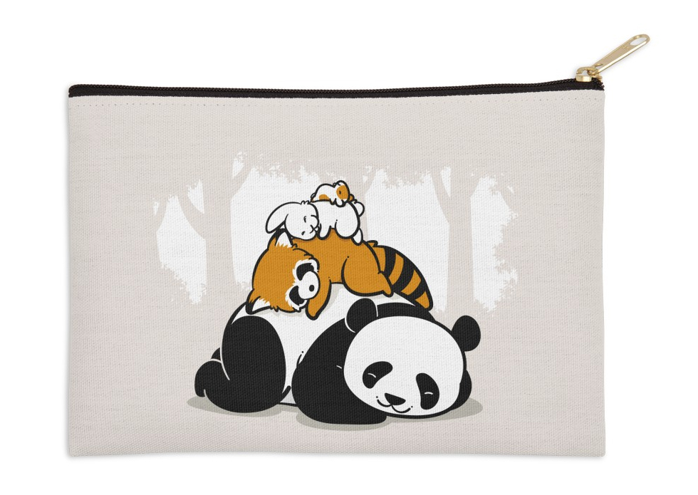 Adorable animal pencil pouch from Threadless | Cool Mom Picks back to school shopping 2017