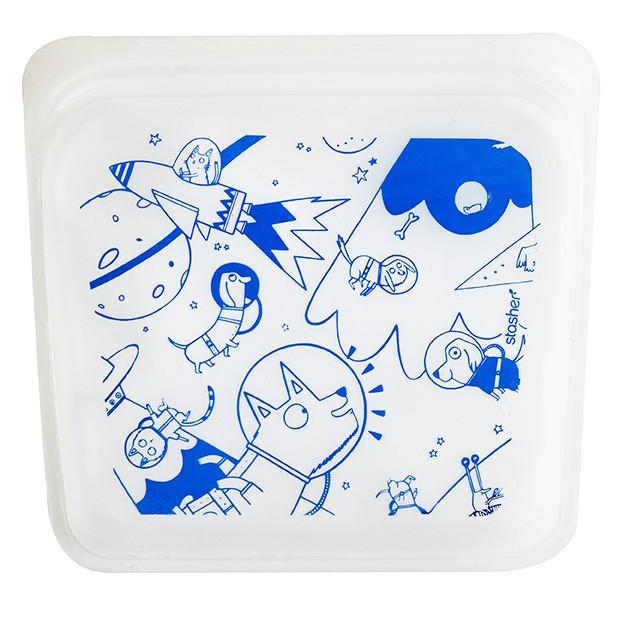 Space animals reusable snack pack | cool back to school space-themed gear | coolmompicks.com