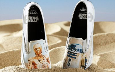 Star Wars x Sperry: A match made in a galaxy far, far away. (Or Massachusetts, really.)