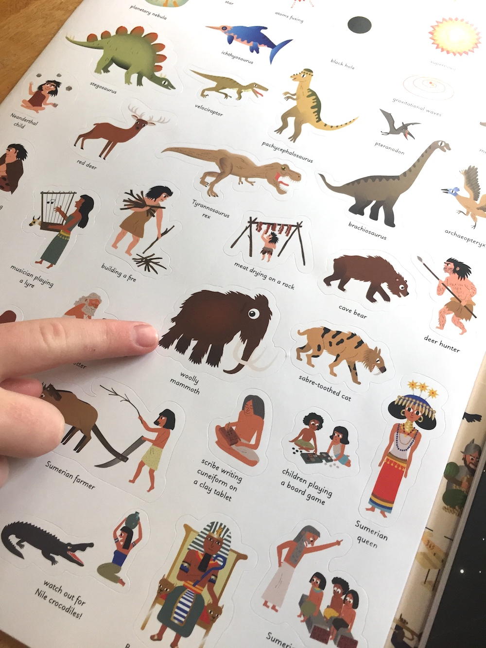 A Sticky History of the World: Tons of cool stickers through history