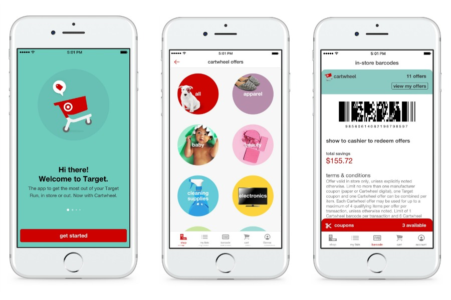 Target app now with Cartwheel: Same savings, 1 less app on your phone | sponsor | cool mom picks
