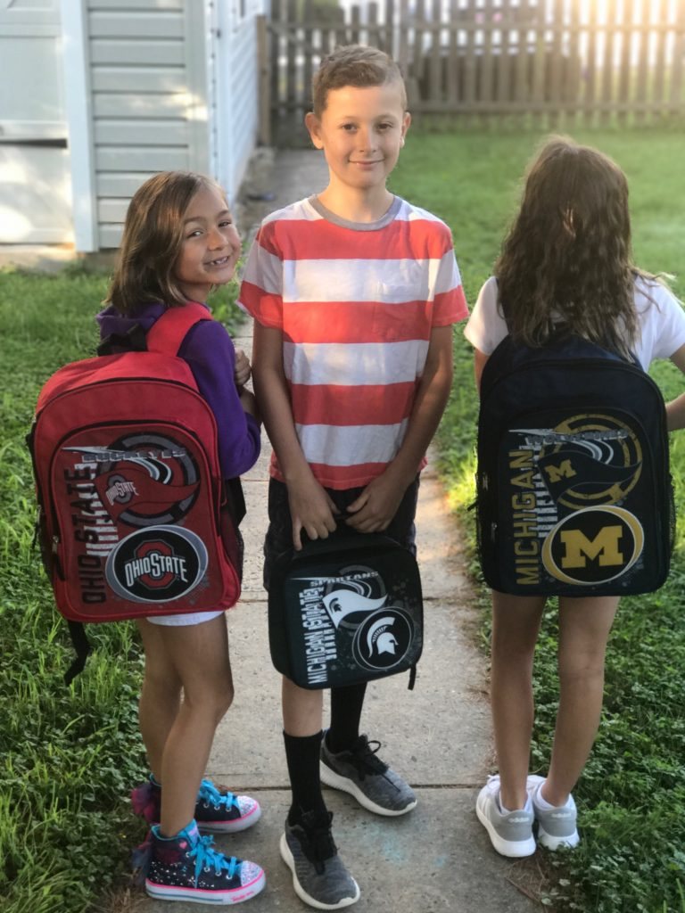The Northwest Accelerator college team backpacks and lunch bags | Sponsor