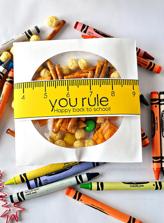 "Back to school printables: Free ""You Rule!"" Printables | Thirty Handmade Days"