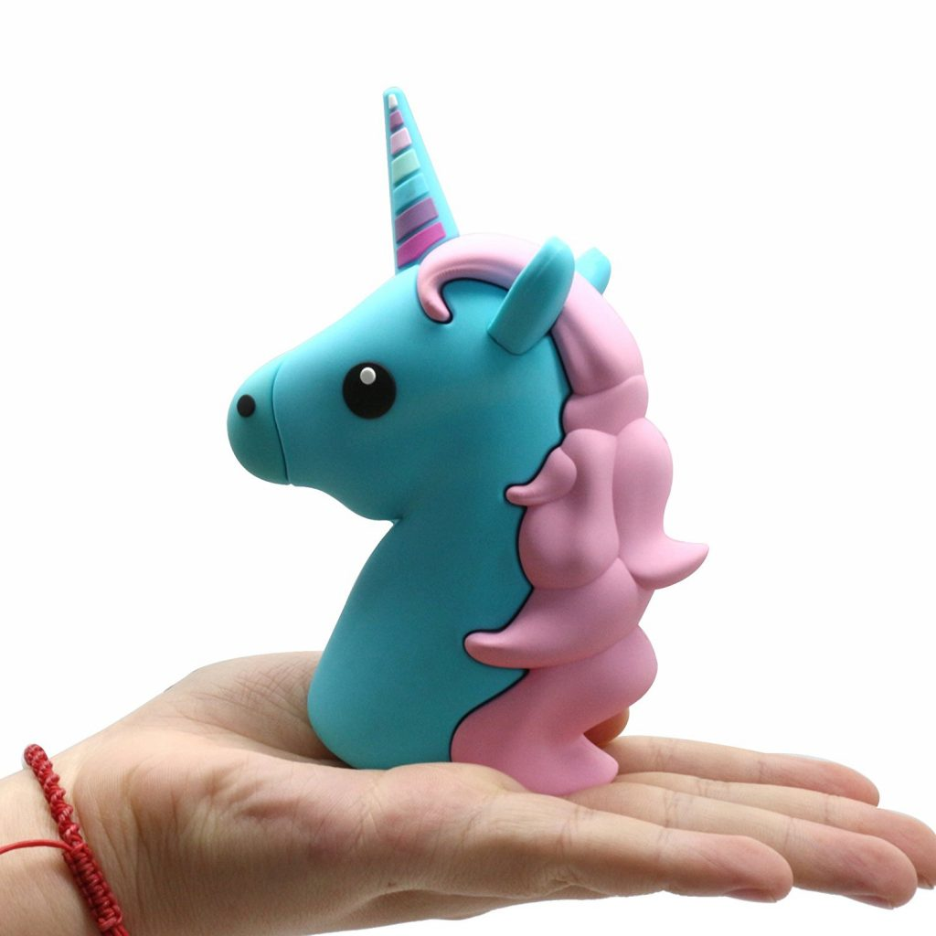 Unicorn emoji iPhone charger for back to school | 2017 school shopping guide | cool mom picks