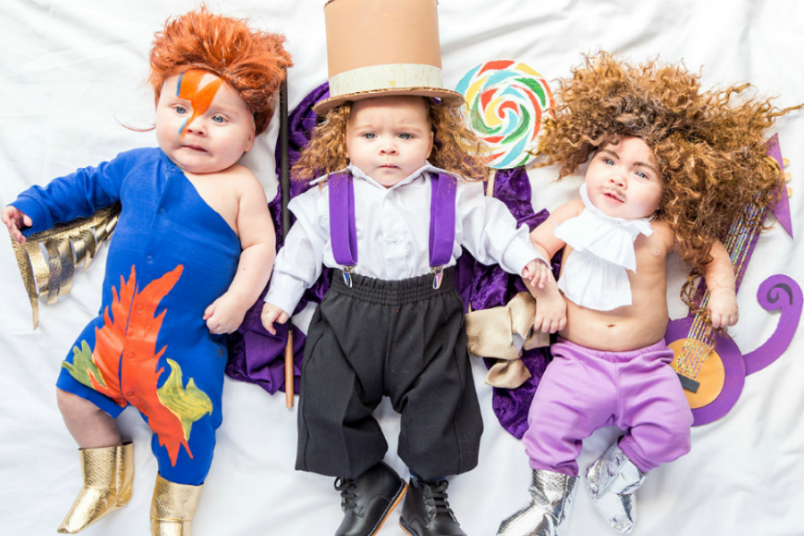 Hottest pop culture baby Halloween costumes: Tributes to David Bowie, Gene Wilder, and Prince | The House that Lars Built