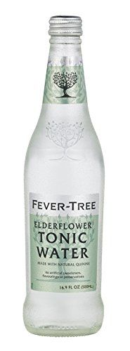 Fever-Tree Elderflower Tonic Water: A fabulous mixer or non-alcoholic treat on its own