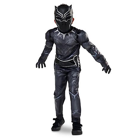 Black Panther costume for kids and babies for Halloween