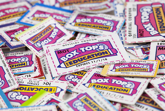 Box Tops for Education: One easy way to help support your school