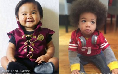 23 of the hottest pop-culture costumes for babies this year. Look for them all!