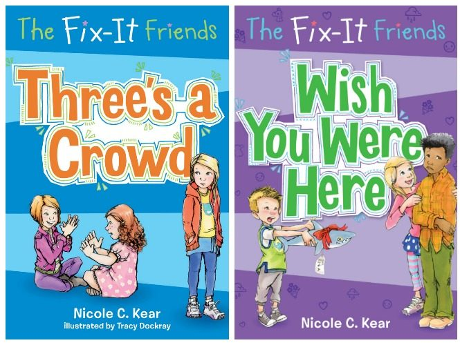 Fix-it friends book series helps kids make better decisions