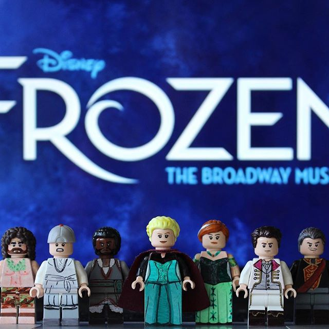 Frozen: The Musical and other Broadway hits recreated as LEGO by Broadway Bricks
