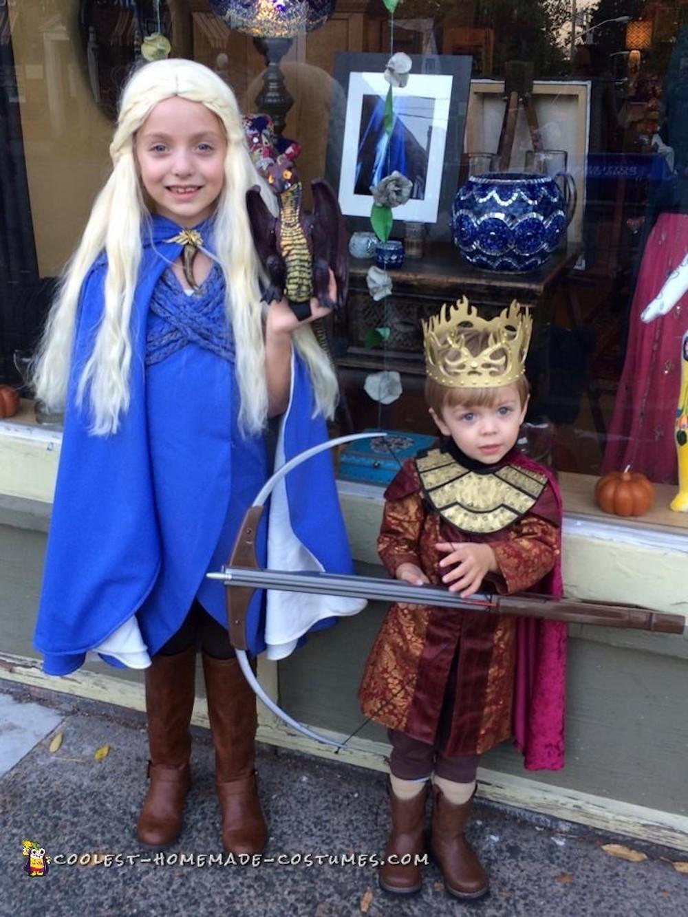 Kids' Game of Thrones costume ideas: How to make Khaleesi and Joffrey
