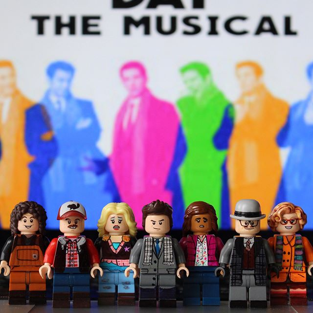 Groundhog Day the Musical and other Broadway hits recreated as LEGO by Broadway Bricks