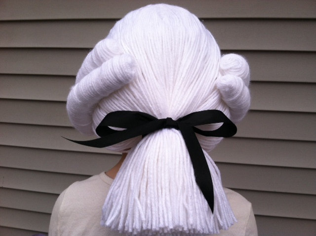 Top pop culture costumes for babies: Hamilton characters! Wig on Etsy