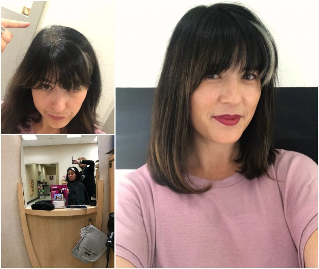 JCPenney Salon hair color: before and after. Doesn't she look amazing? | Cool Mom Picks | sponsor