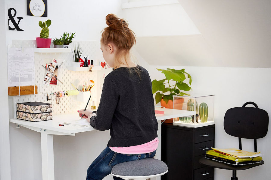 How to create the perfect kids' workspace so it actually gets used.