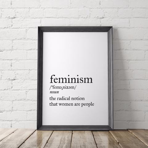 Empowering activist quote posters at Little Gold Pixel: Feminism