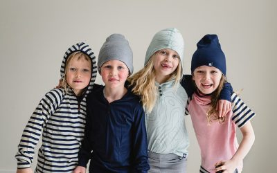 Beautiful wool basics for kids who are picky about fabrics