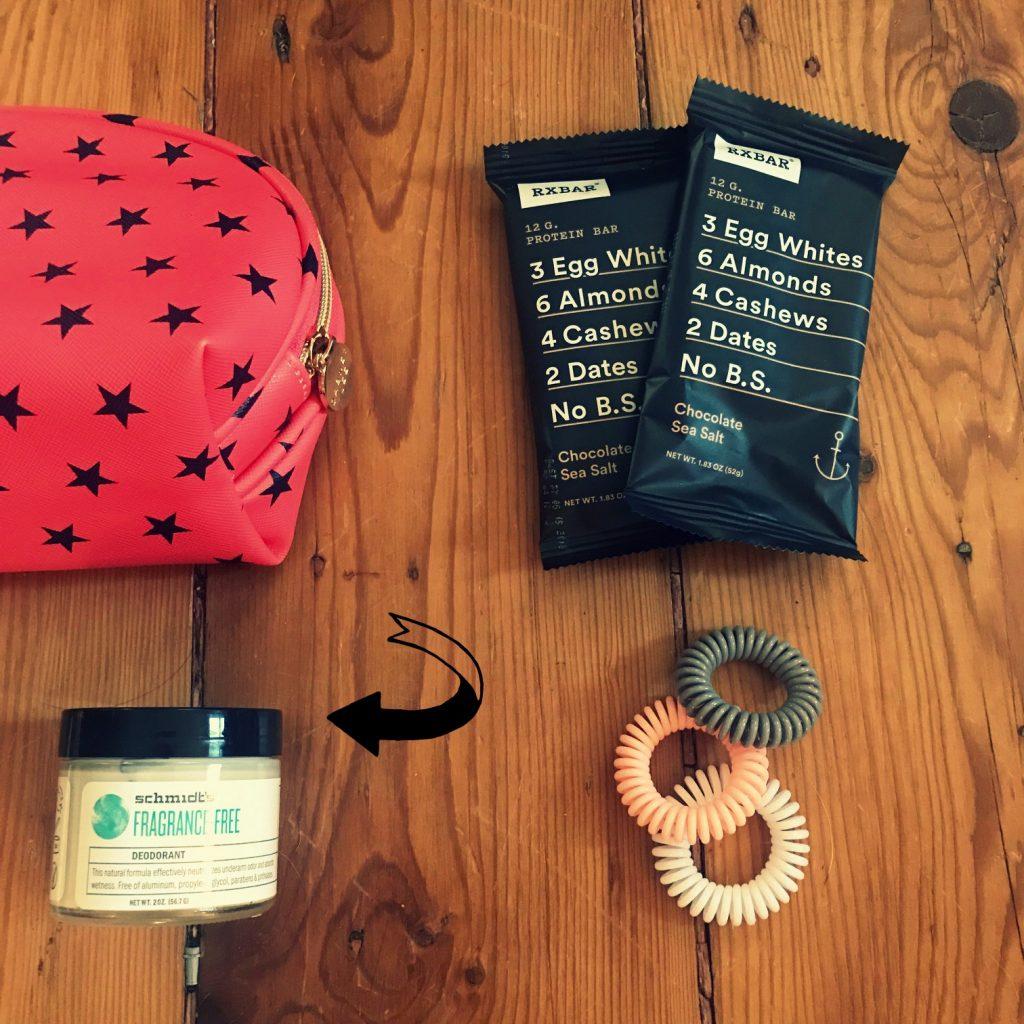 What's in your bag? Schmidt's deodorant