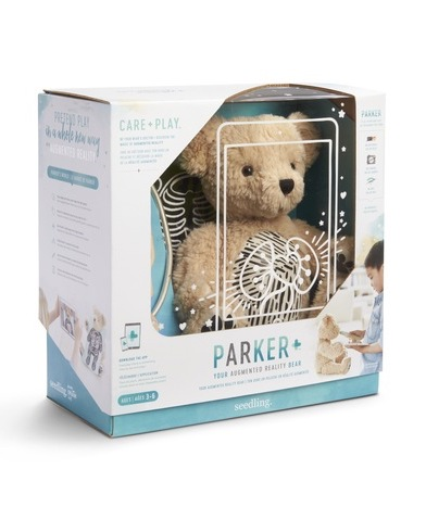 Parker is the first Augmented Reality teddy bear combining high tech and creative play to create more caring, empathetic kids   sponsor