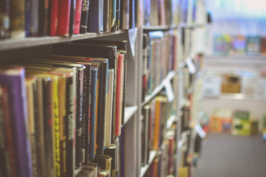 Effective ways to support your school without a lot of time or money: Donate new or gently used books to the school library | cool mom picks
