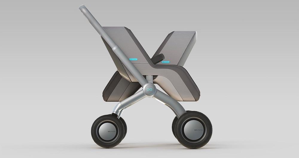 The SmartBe self-propelled stroller. OMG.