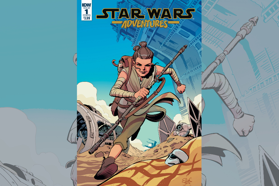 A new all-ages Star Wars comic book gives you a quick fix before Last Jedi