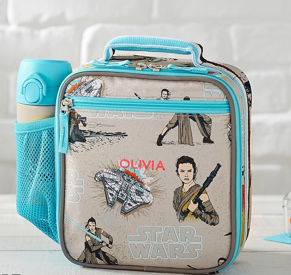 Best lunch boxes that really hold up: PBK classic lunch boxes like this awesome Rey Star Wars Force Awakens style