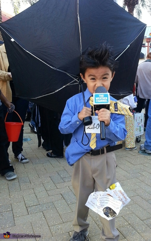 No-sew Halloween costumes: Weather Man Costume | Costume Works