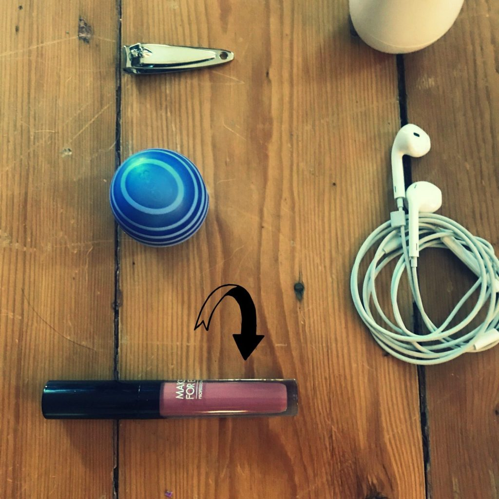 What's in your bag: Make-up Forever lipstick