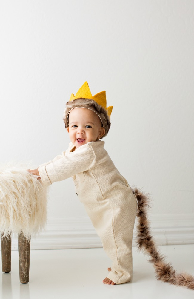 No-sew Halloween costumes: Where the Wild Things Are Costume | A Night Owl Blog