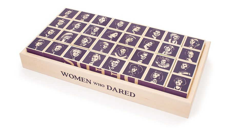 Women Who Dared Blocks | Uncle Goose