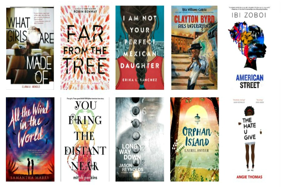 The 2017 National Book Award finalists that YA lovers will want to get their hands on now.