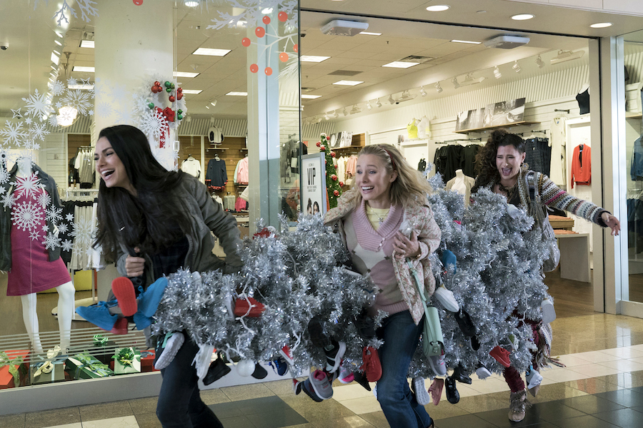 A Bad Moms Christmas: On set with Mila Kunis, Kristen Bell, and Kathryn Hahn
