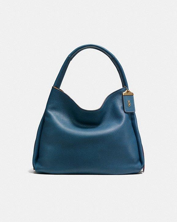 Coach Bandit Hobo 38 Handbag in Dark Denim: Color for fall!