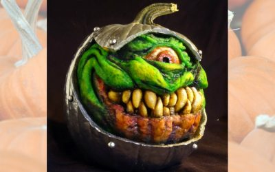 10 outrageously creepy Halloween pumpkins for when your kids are out of the nightmare stage