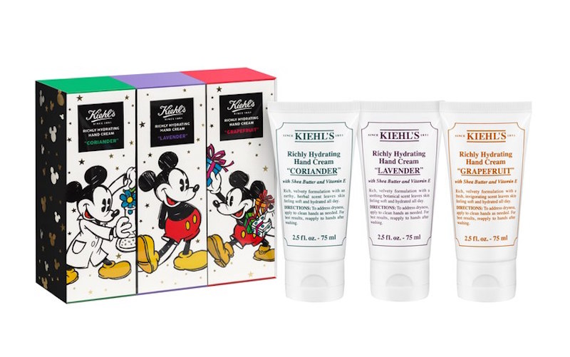 Disney x Kiehl's charity collection: Scented Hand Balm Trio