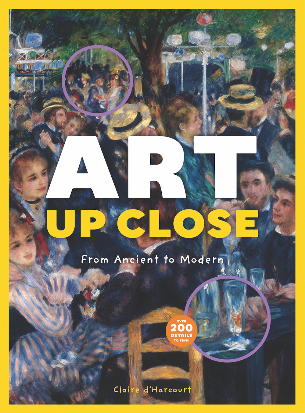Gorgeous look-and-find books for kids: Art Up Close by Claire d'Harcourt