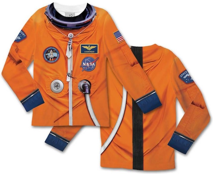 Halloween costume T-shirts: Astronaut Space Suit Costume Tee at AllPosters.com