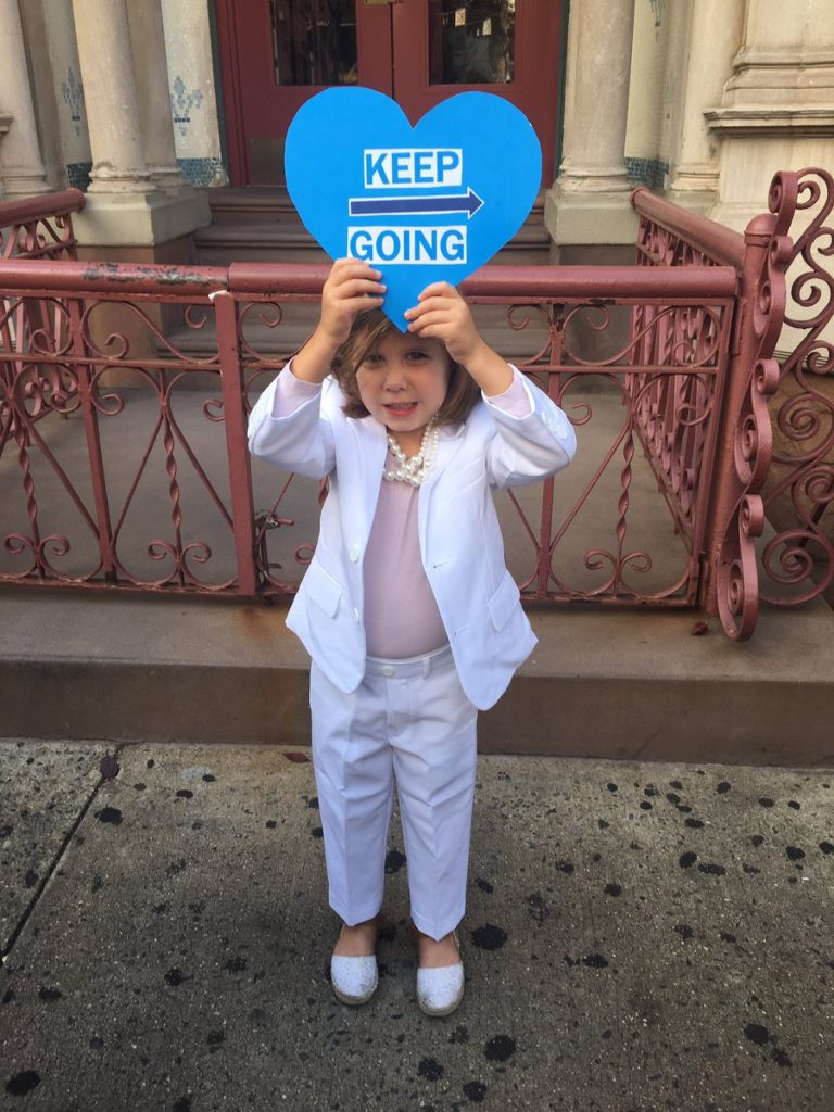 Empowering girl Halloween costumes based on real life heroes: Hillary Clinton via cool dad Greg Hale