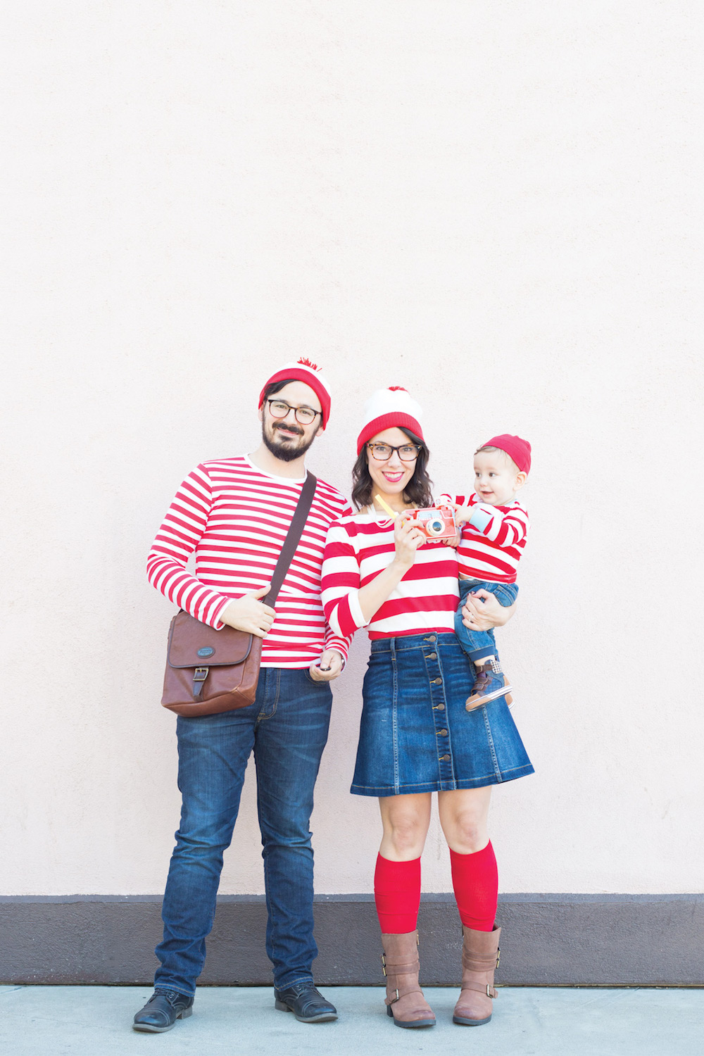 Last-minute Halloween costumes for moms: Waldo at Lovely Indeed