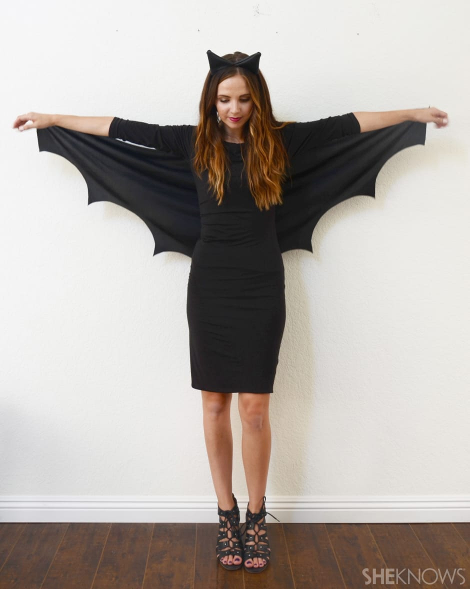 Last-minute Halloween costumes for moms: a Bat at She Knows