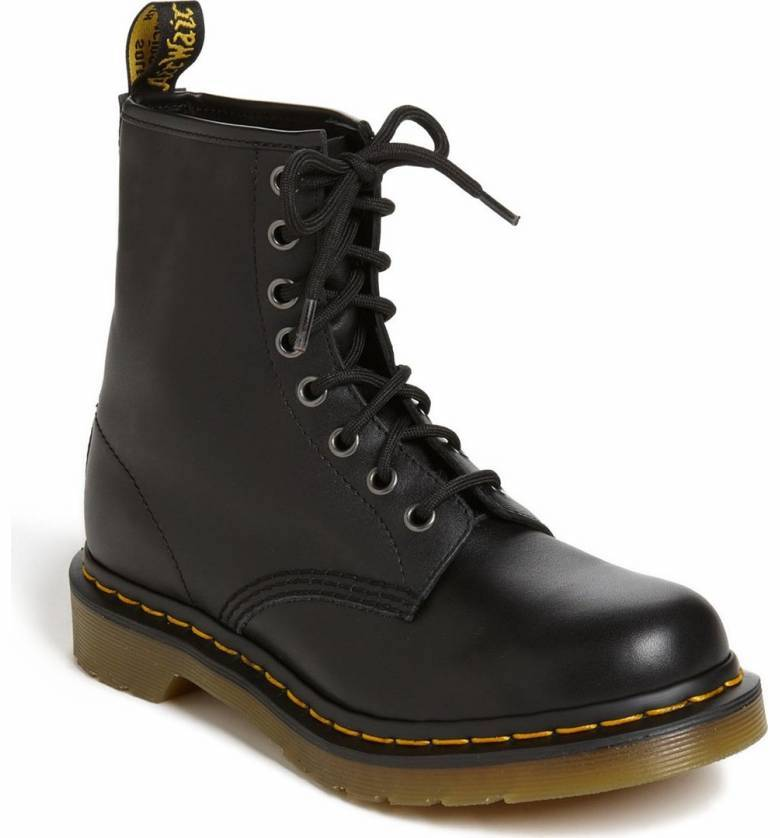 Must-have 90s-style wardrobe items: Dr. Martens, obviously