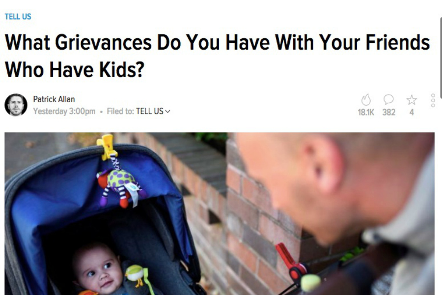 """One mom responds to the haters expressing cruel """"grievances"""" against parents."""